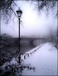 I love Paris in the Springtime but, isn't Paris i… Paris Winter Wonderland. I love Paris in the Springtime but, isn't Paris in the Winter just as lovely? Paris Winter, Winter Szenen, Winter Magic, Paris Snow, Winter Walk, Winter Love, Winter Travel, Beautiful World, Beautiful Places