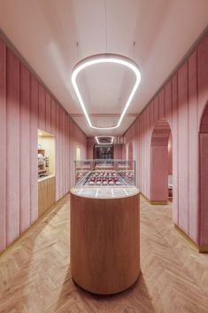 Wrocław's new plush pink patisserie is the sort of magical spot where decadent fairytales come true. - Nanan Wrocław Patisserie designed by BUCK. Patisserie Design, Boutique Patisserie, Decoration Patisserie, French Patisserie, Logo Patisserie, Design Café, Cafe Design, Store Design, Interior Design