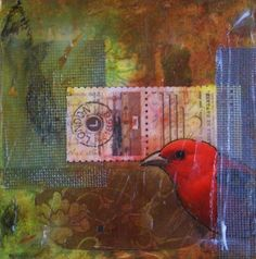 Mixed Media Collage by Ishita Bandyo Birds 2, Mix Media, Mixed Media Collage, Buy Prints, Types Of Art, Bird Art, Page Design, Bird Feathers, Art For Sale