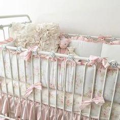 Fresh Vintage Crib Bedding
