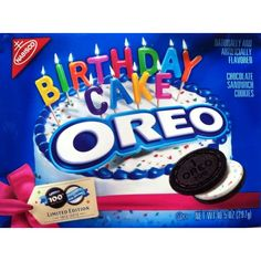 Oreo 100th Birthday Cake Cookies (Pack of 2) ❤ liked on Polyvore featuring food and food and drink