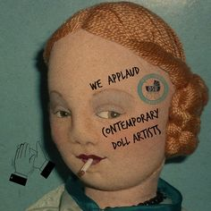 We applaud all #Contemporary #Doll Artists @Dollshopsunited Thank You!  http://www.dollshopsunited.com/  #dollshopsunited