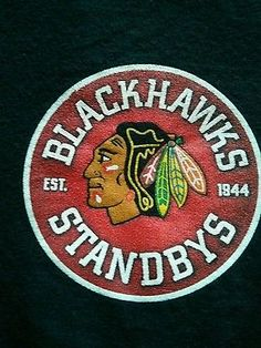 Chicago BlackHawks  Chicago Standbys Official Fan Club T-shirt NHL