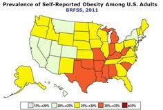 fattest state in America