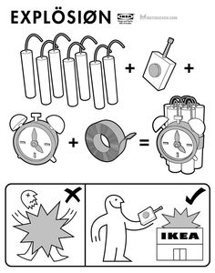 19 Best Ikea Parody Assembly Instructions Images Ikea Assembly