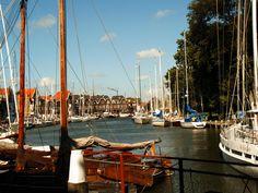 De oude haven in Hoorn