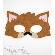 Bad Wolf Mask ITH Embroidery Design