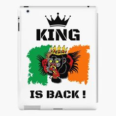 #thekingisback #conormcgregor #ufc #mma #findyourthing #shirtsonline #trends #riveofficial #favouriteshirts  #art #style #design #shopping #redbubble #digitalart #design #fashion #phonecases #customproducts #onlineshopping #accessories #shoponline #onlinestore Conor Mcgregor, Lip Designs, Ufc, Sell Your Art, Ipad Case, Fitness Models, Custom Design, Finding Yourself