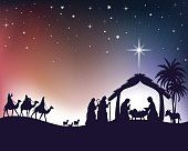 Choose from 60 top Star Of Bethlehem stock illustrations from iStock. Christmas Nativity Scene, Noel Christmas, Christmas Pictures, Christmas Lights, Christmas Crafts, Christmas Decorations, Christmas Background, Christmas Wallpaper, Nativity Painting