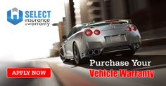 Purchase Your Vehicle Warranty http://www.selectwarranty.com.au/apply/