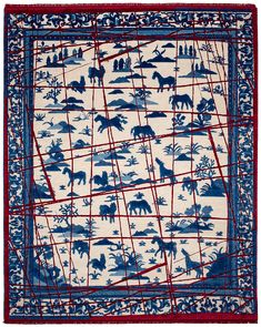 Inspired by his travels to Beijing, Shanghai, and imperial cities such as Xi'an, Jan Kath discovered ancient dragon depictions for his work and interpreted them in the East collection in a modern way. Beijing, Shanghai, Jan Kath, Imperial Dragon, Horse Rugs, Year Of The Dragon, Legendary Creature, His Travel, Bohemian Rug
