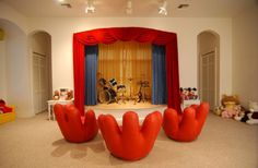 A performance stage for the talented singing and dancing toddler in your life.