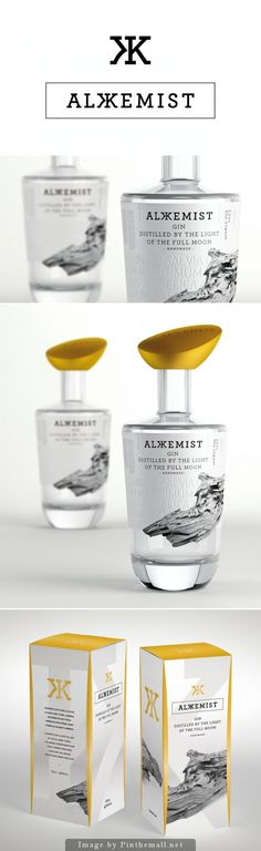 ALKKEMIST Gin Creative Agency: Series Nemo Type of work: Commercial work Location: Barcelona, Spain