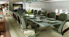 Casa de luxo voadora do príncipe saudita