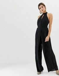 734ddd3ecf DESIGN lace top jumpsuit with collar