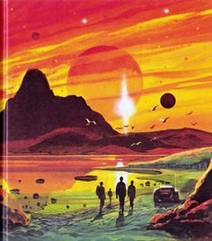 Science Fiction vintage book cover