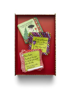 The perfect hostess gift: Fun napkins from Chico's. #chicossweeps