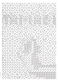 Tamabi | Creative Modern Monochrome Typography Fonts for Poster Graphic Design  | Award-winning Typography for Design | D&AD