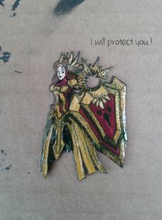 Leona - the Radiant Dawn - League of Legends Champion - Earring - Necklace - Brooch