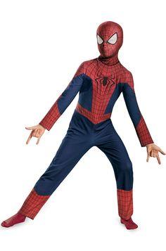 Amazing Spiderman 2 Classic Child Costume
