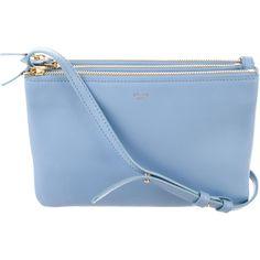 Designer Clothes, Shoes & Bags for Women Celine Purse, Celine Handbags, Blue Handbags, Blue Shoulder Bags, Shoulder Handbags, Shoulder Strap, Blue Purse, Blue Bags, Crossbody Shoulder Bag