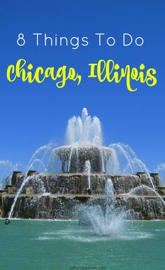 Heading to the city of Chicago, Illinois and looking for something to do? Check out this list of 8 great things to do in the city!