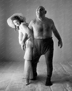 Maurice Tillet Freak Show Vintage 8x10 Reprint Of Old Photo