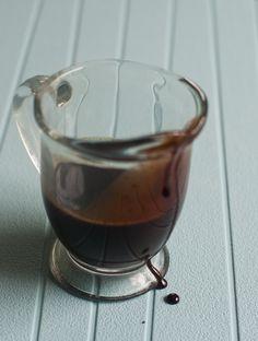Homemade chocolate syrup - sounds good :)