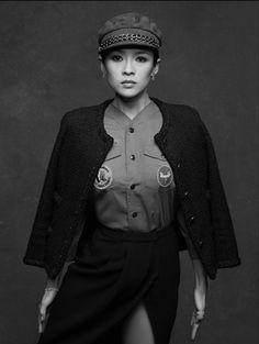 Chanel little black jacket by Zhang Ziyi