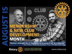 Membership & New Club Development Month - by CMC Rotary Club