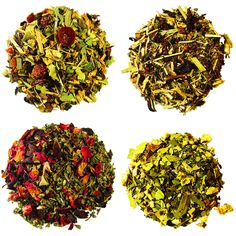 For all the times you need a pick me up or comfort. The four teas in this sampler have unique uses for each, but are all blended for wellness and rejuvenation. #herbaltea