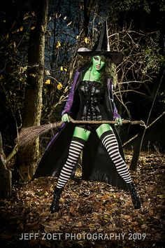 Would love to do a shoot like this some day  Wicked Witch