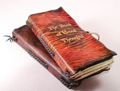 Dawn The book of good thoughts Leather Journal by GILDBookbinders, $45.00