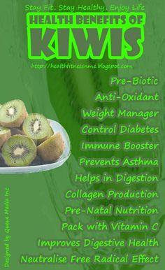 kiwi's health benefits
