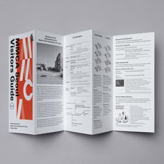 New Visitors guide for National Museum of Modern and Contemporay Art, Korea by Studio fnt. #print #design