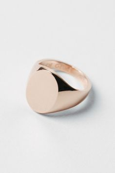 Signet Ring Rose Signet Ring – A Kind of Guise Piercings, Bling, Signet Ring, Diamond Jewelry, Diamond Bracelets, Gold Jewellery, Ring Designs, Jewelery, Jewelry Accessories