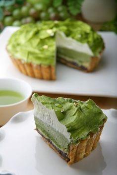 addgreentea:  green tea pie.