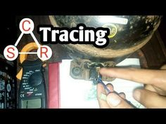 how to trace common running and starting point of refrigerator compressor in urdu/hindi language - YouTube