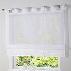 0f95e0a9b SIMPVALE 1 pieza Color sólido Persianas romana de Hilado de ventana Altura  ajustable cortina de ventana