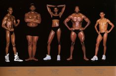 New York-based photographer Howard Schatz captures the diverse range of body types of Olympic athletes. Referring to a body as an athletic build is often thought to be a perfect, rippling mass of muscle boasting a six pack, but Schatz's series reveals the wide variety of heights, widths, body shapes, and muscle mass that make up the physiques of champion athletes across an array of Olympic sports. Tall, short, heavy and light, Schatz's series clearly displays the broad spectrum of sizes and…