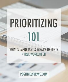 We all know how important it is to prioritize your tasks. I use prioritizing to stay on top of my tasks and to get stuff done. This post even includes a priority day planner printable to help you stay on top of your tasks and productivity daily!