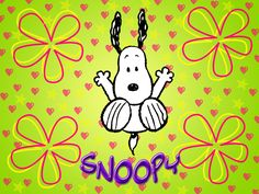 Jumping Snoopy