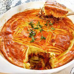 יפצ'וק מבשלת ואופה: פשטידת בשר ותפוחי אדמה