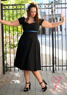Stop Staring Designer Series: Mad Men Plus Size Swing Dress