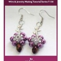 DIY Radiant Orchid – Colored Earrings and Fashion Items...FOR instructions you have to pay for membership....the picture is nice!