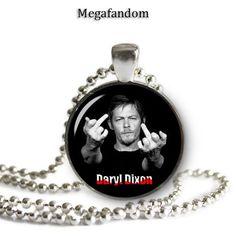 Norman Reedus Daryl Dixon Necklace Pendant Walking Dead Pendant/Necklace