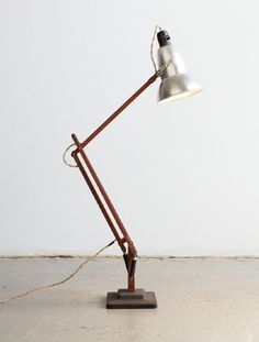 timber anglepoise by henry wilson.