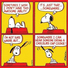 Snoopy's awesome ability