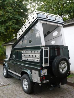Land Rover Defender 110 Custom Expedition.  We're drooling. http://upknorth.com/blog/lr-defender-custom-expedition