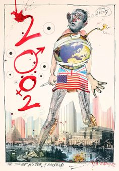 Ralph Steadman - The American Presidents